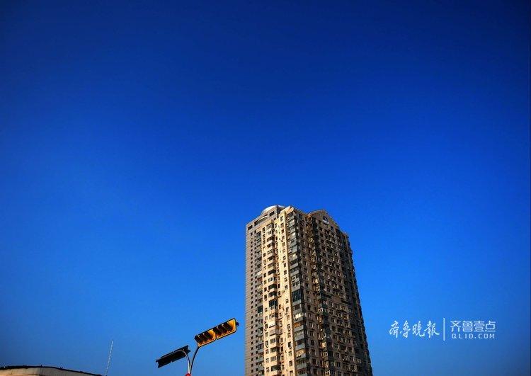 雷雨洗涤后,济南蓝天更美空气更透