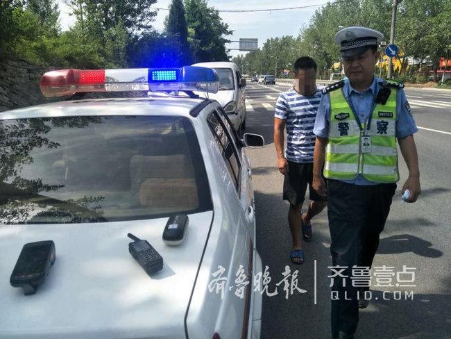 济南男子驾照注销13年,懒得重考,回济无证驾驶被逮