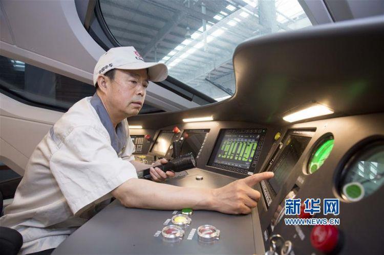 复兴号动车组新车检查验收 确保运行图调整顺利实施