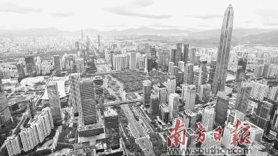 """深圳""""扩容"""":大都市圈引领周边共舞"""