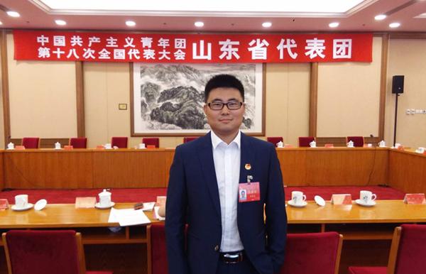 青春之声|团十八代表陈泽忠:坚实当担,努力发挥桥梁与纽带作用