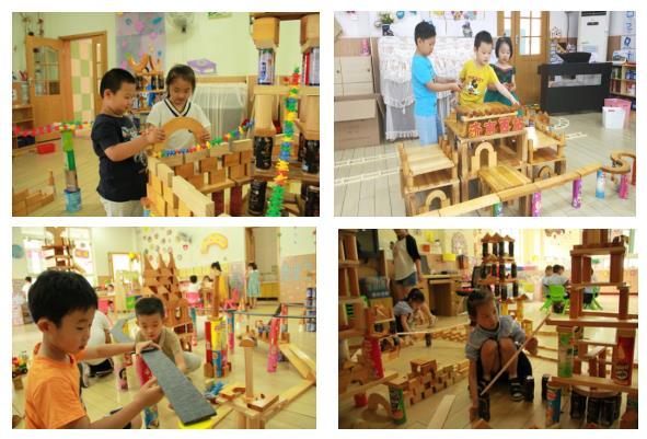 小积木大世界!围观济南槐荫实验幼儿园创意构建游戏展