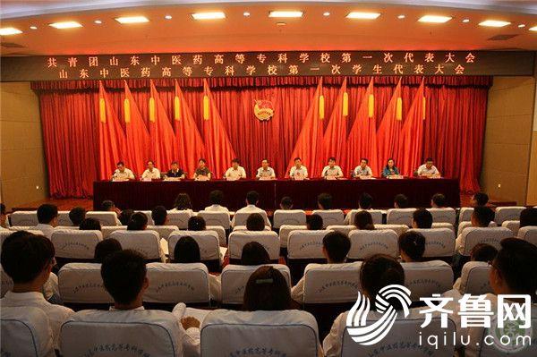 共青团山东中医药高等专科学校第一次代表大会、第一次学生代表大会召开