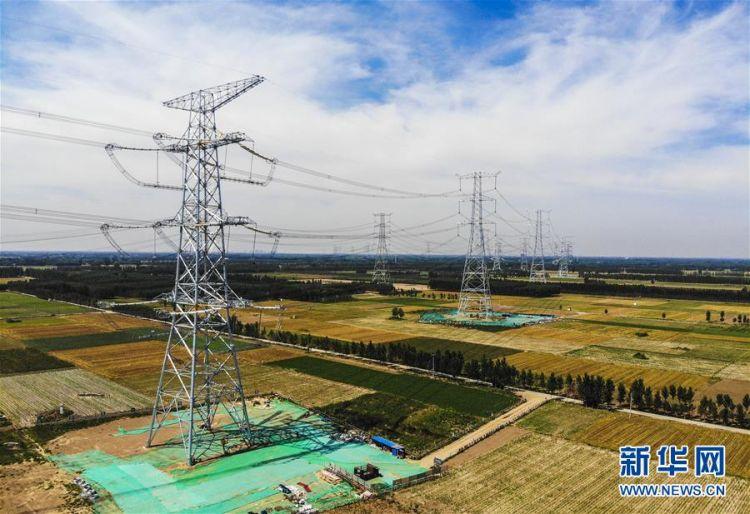 雄安新区首个大型电网建设工程投入运营