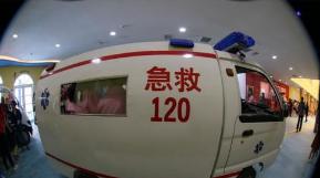淄博空巢老人发病 120及时伸援手