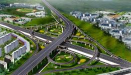 淄博鲁山大道—张辛路立交桥本月底开建