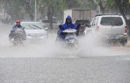 淄博上月降雨量为去年同期3倍 为1981年以来同期最大