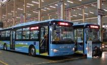 淄博86路中巴车升级环保大公交 张店去罗村更方便