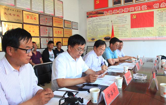 齐鲁理工学院党委书记向来生赴青海黄南州职业技术学校走访慰问