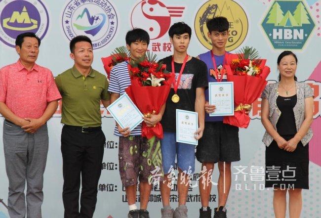 高手过招!首届全国攀岩全能锦标赛在菏泽郓城举办