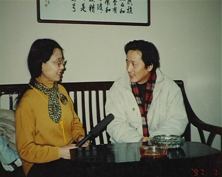 采访著名影视演员:赵有亮