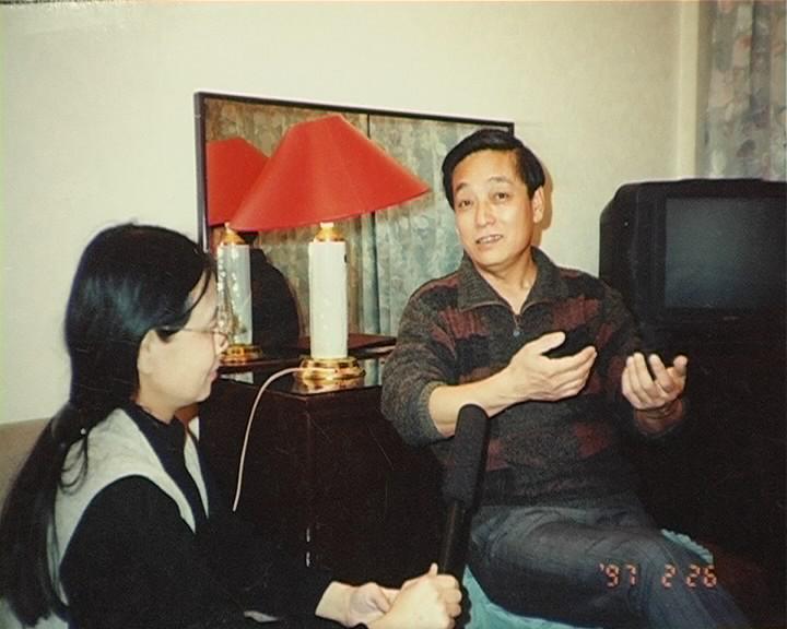 采访韩美林