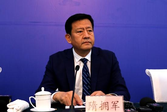 山东省体育局副局长、第24届省运会组委会委员、副秘书长 隋拥军