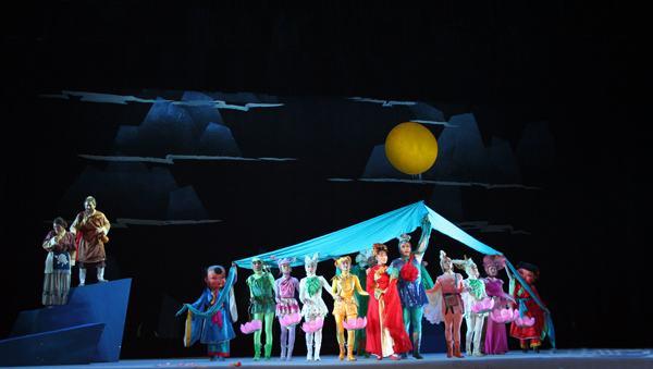 中国儿童戏剧节43天演出229场 济南将设分会场