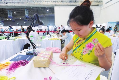 聊城首届残疾人职业技能竞赛开赛 51名残疾人参赛