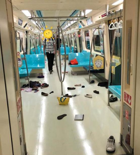 台北捷运突发骚乱乘客惊慌逃生 罪魁祸首竟是老鼠