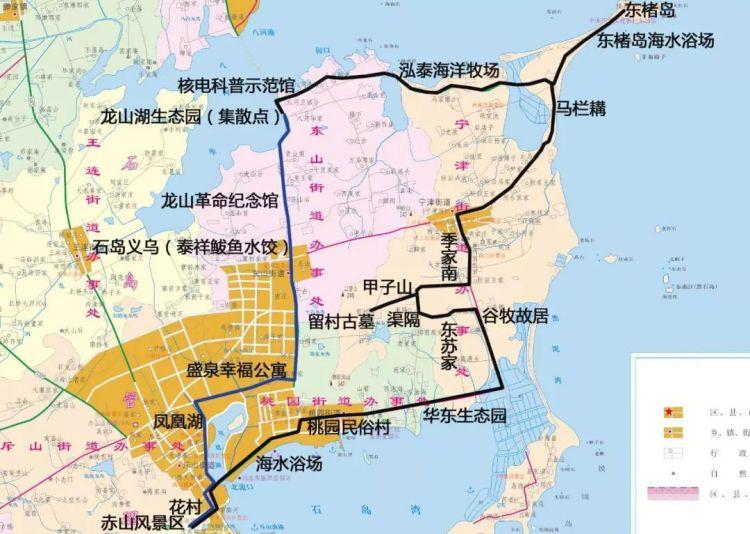 5日正式运行!坐上观光巴士去荣成石岛来一场邂逅
