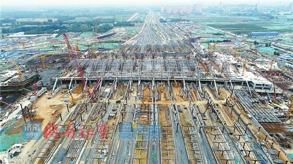 济南新东站有望12月纳客,济青高铁或同步通车