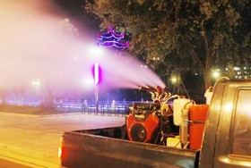 桓台城区每隔10天夜消蚊蝇 晚上10点半后尽量少外出