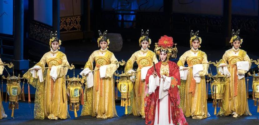 楚调悠扬 大型汉剧《霓裳长歌》在武汉首演