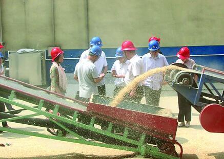 农发行莱芜市分行为夏粮收购保驾护航