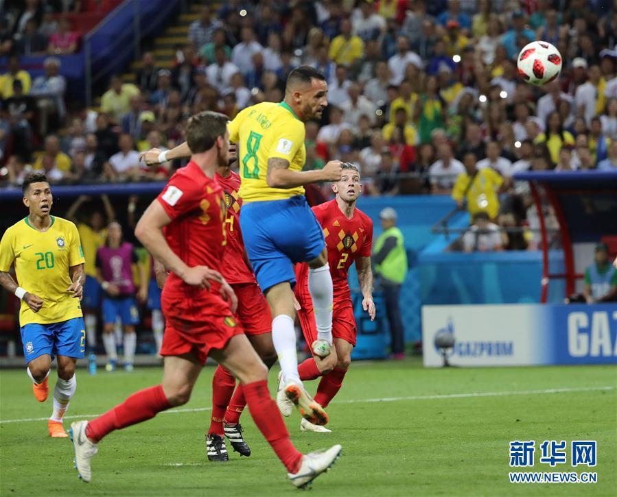 奥古斯托破门险救主 比利时2-1淘汰巴西