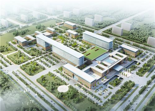 张店市民服务中心主体竣工 计划明年10月投用
