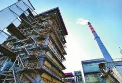淄博供热锅炉实现超低排放改造 大烟囱没有长尾巴了