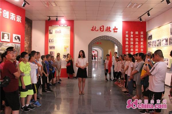 东营区丽景小学2018年红色教育研学暨毕业典礼成功举行
