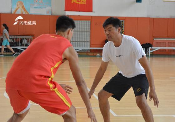 中国U23三人男篮泉城集训 主教练:全力备战世界杯