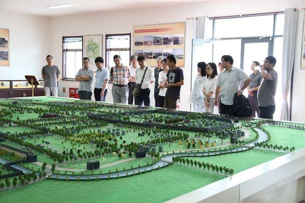 陕西省考古研究专家组对鲁国故城项目进行调研指导