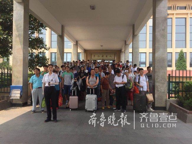 兖州火车站暑运省内沿海城市最火