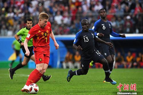 乌姆蒂蒂头槌建功!法国1:0战胜比利时挺进决赛