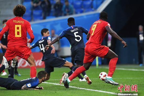 比利时主帅:球队输在细节 跟法国只差一个角球