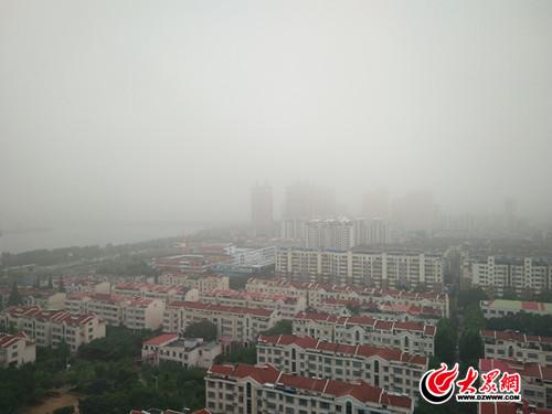 临沂发布大雾黄色预警 市区能见度小于500米