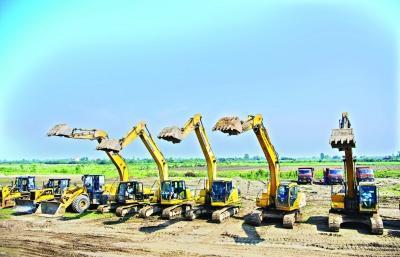 7月份武汉53个项目集中开工 四大国家新基地多个项目落地