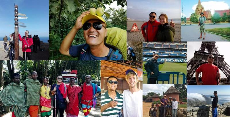 盲人旅行6大洲35国 《一张照片》他的故事被拍成纪录片