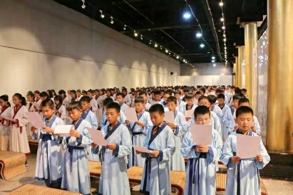 临沂500人研学旅游团走进书香曲阜 感悟圣贤文化