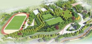淄川体育公园就市民质疑解释大足球场不对外开放
