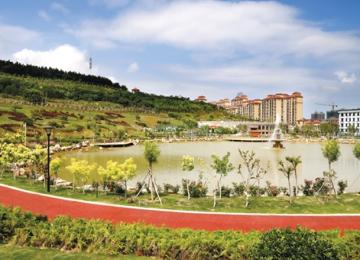 张村镇南山公园建成开放