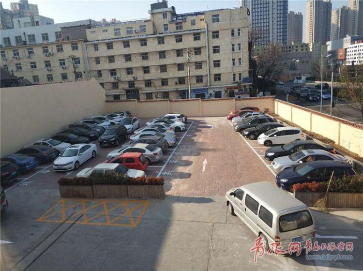 """盘活单位停车场的""""夜间资源"""" 青岛探索共享停车"""
