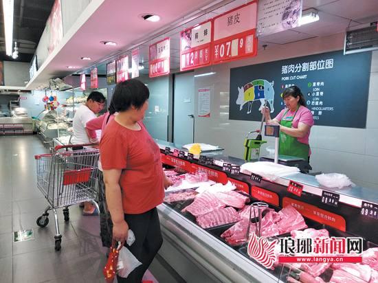 临沂生猪价格破6仍有上涨空间 市民吃肉要多花钱