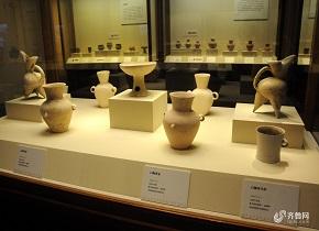 230余件山东焦家遗址文物展品亮相北京国家博物馆