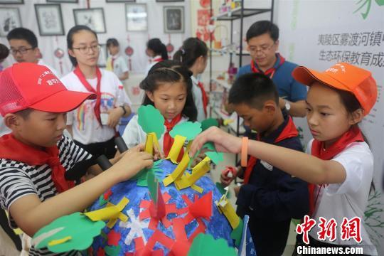 """上海孩子""""走读""""三峡 探寻长江生态之美"""