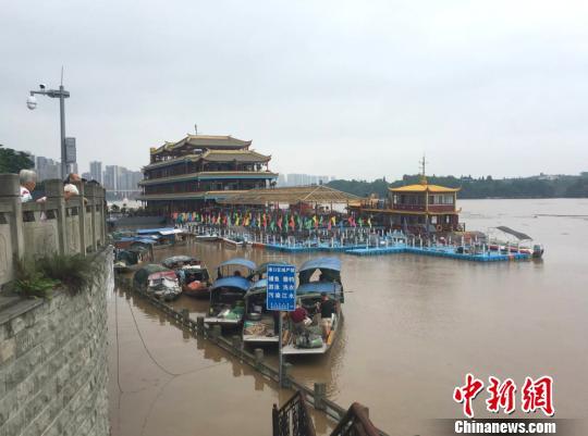 重庆合川全力应对洪峰过境 转移群众2万余人