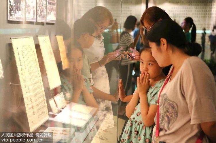 北京各大博物馆迎来暑期参观高峰