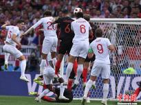 一黑到底创造历史!克罗地亚2:1逆转英格兰挺进决赛