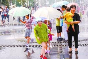 高温+阴雨,今天山东天气好纠结!济南或连续8天超35℃