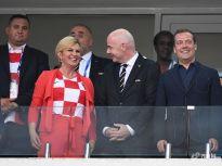 世界杯决战在即!盘点变身球迷的各国政要与王室成员
