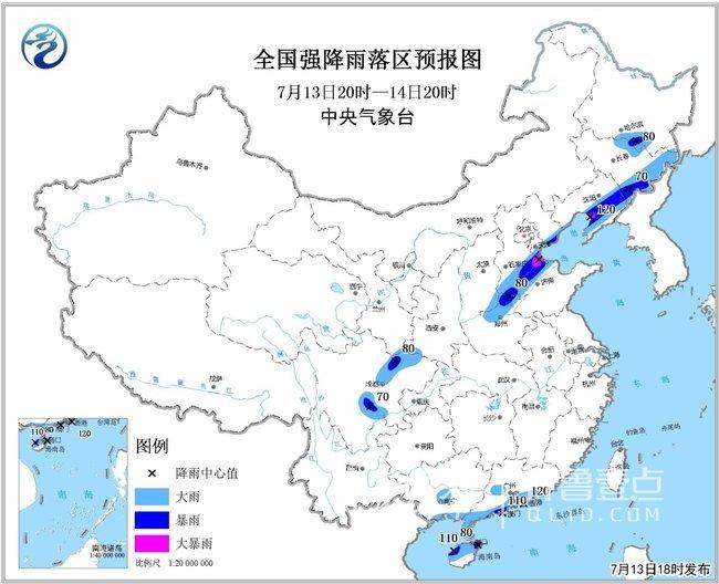 台风余威影响,山东北部局部大暴雨+雷电!但并不凉爽